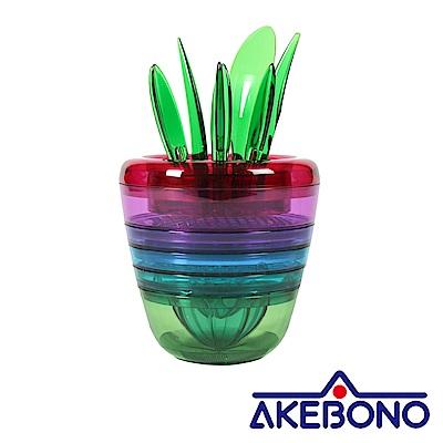 AKEBONO 繽紛水果調理工具組
