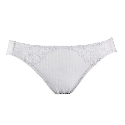 蕾黛絲-親膚好感挺素面搭配低腰內褲 M-EL 粉霧灰