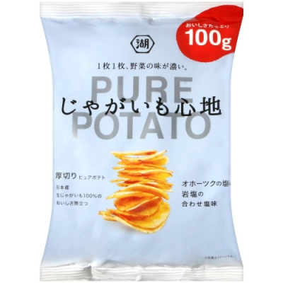 湖池屋 PURE POTATO鹽味薯片(100g)