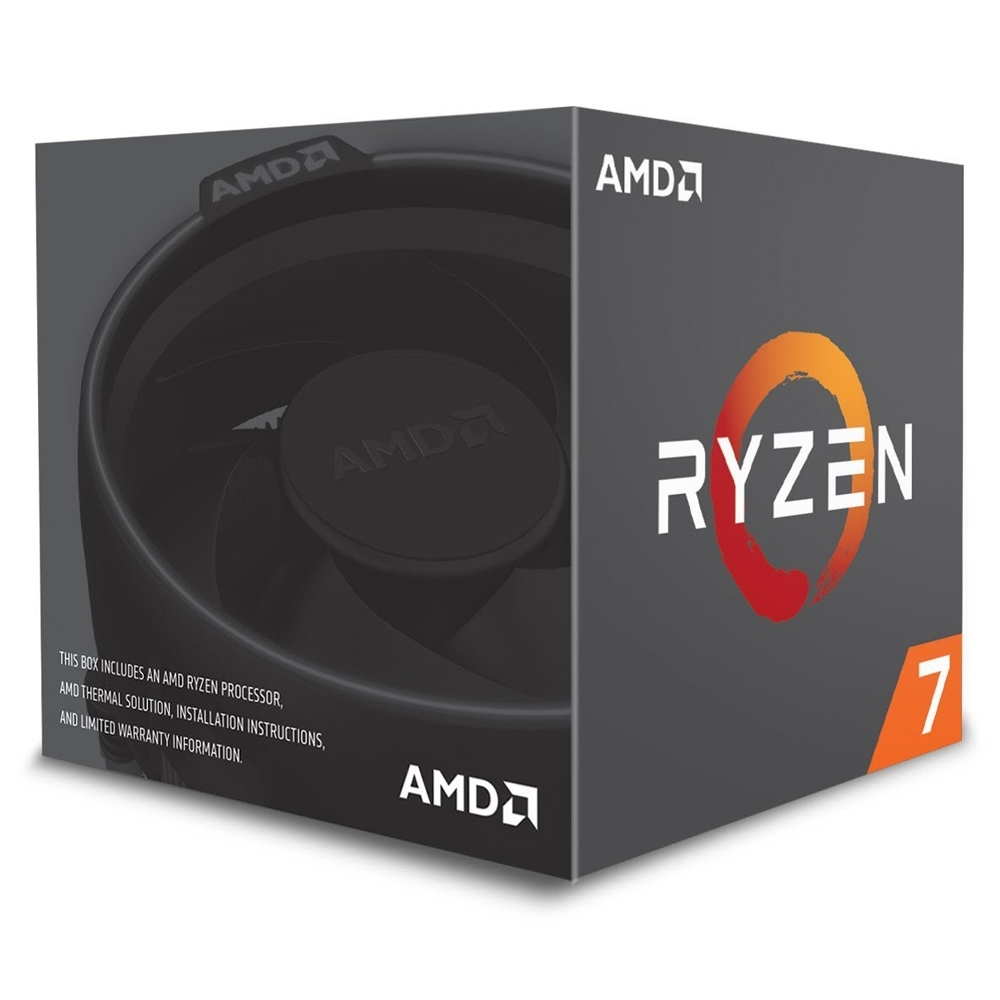 AMD Ryzen 7 2700 八核心處理器《3.2GHz/AM4》 product image 1
