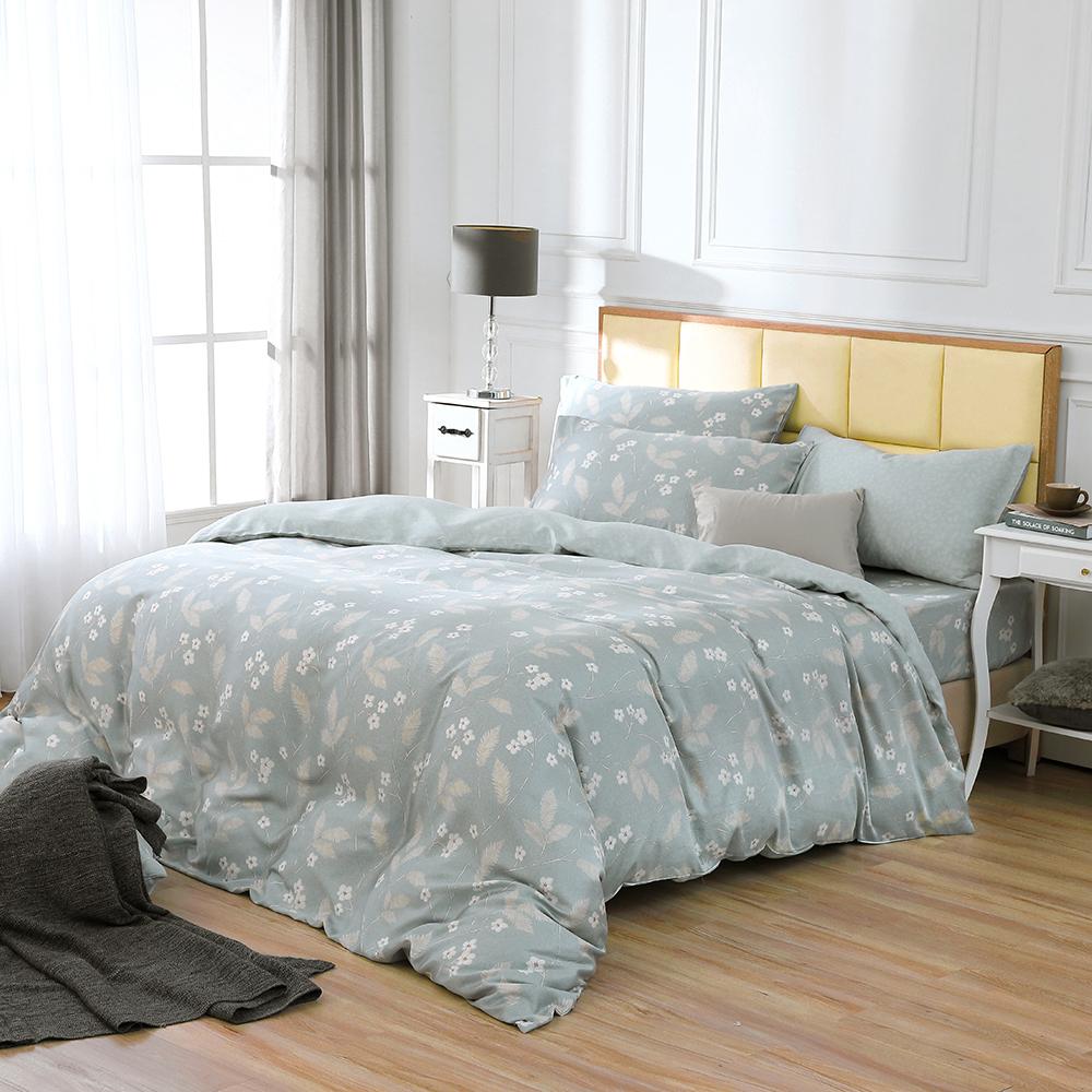 鴻宇 雙人床包兩用被套組 天絲 萊塞爾 山荷葉 台灣製