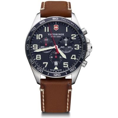 VICTORINOX瑞士維氏Fieldforce計時手錶(VISA-241854)