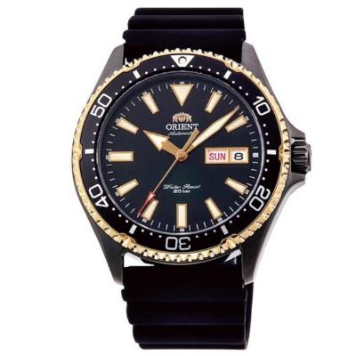 ORIENT 東方錶 怒海潛將 藍寶石鏡面 機械錶(RA-AA0005B)-黑金/42mm