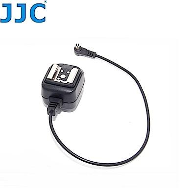 JJC Nikon閃燈相機PC轉熱靴同步線連接器HP-N-相機/望遠器材用