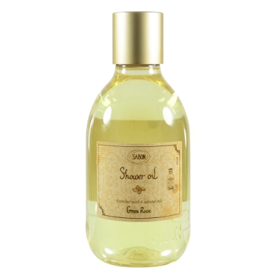 SABON 以色列綠玫瑰沐浴油 300ml Shower Oil #Green Rose