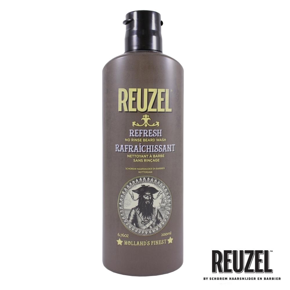 REUZEL Beard Wash 免沖保濕潔淨鬍鬚泡沬 200ml
