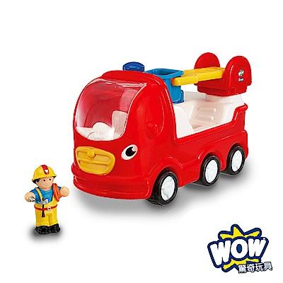 【WOW Toys 驚奇玩具】雲梯消防車-恩尼