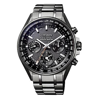CITIZEN GPS衛星對時光動能鈦腕錶/CC4004-58E