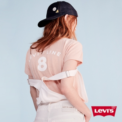 Levis 女款 短袖T恤 Line8 歐系簡約