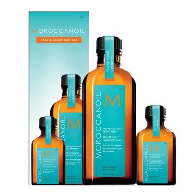 MOROCCANOIL 摩洛哥優油 二入禮盒(100ml+隨身瓶25ml)-快速到貨