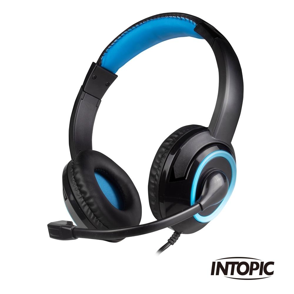 INTOPIC 廣鼎 頭戴式耳機麥克風(JAZZ-M309)