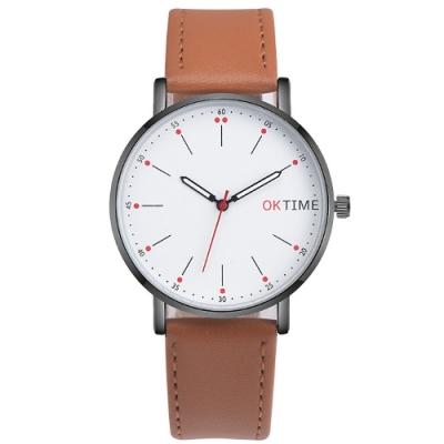 Watch-123 快閃限定-溫和細膩雙色時標手錶(2色任選)