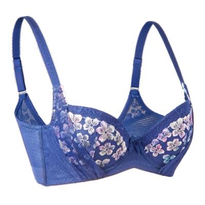 黛安芬-豐挺美型系列 B-D罩杯內衣 典雅深藍