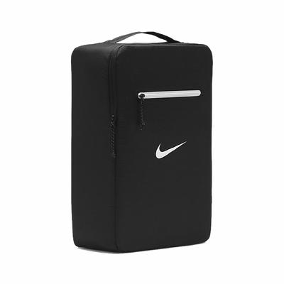 Nike 鞋袋 Stash Shoe Bag 男女款 可收納 外出 旅遊 輕便 手提 黑 白 DB0192-010