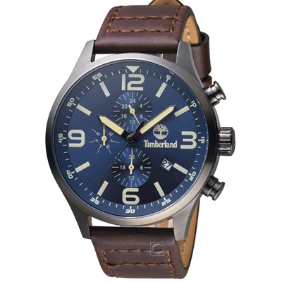 Timberland 風潮再造時尚腕錶(TBL.15266JSU 03)45mm