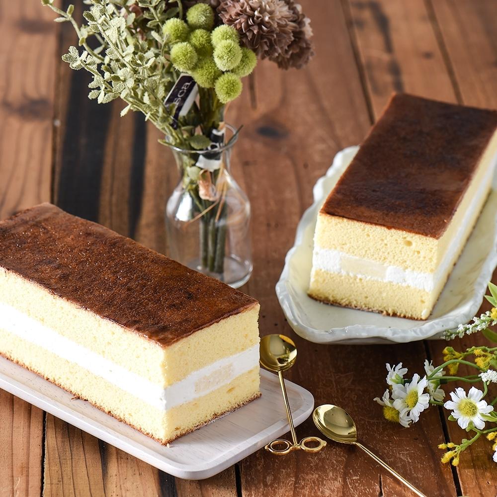久久津 北海道布蕾蛋糕(6條)(加贈送乳酪塔2顆)(CAT)