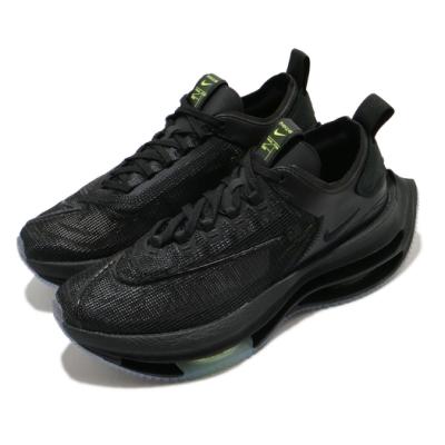 Nike 慢跑鞋 Double Stacked 運動 女鞋 雙層氣墊 舒適 避震 路跑 健身 球鞋 黑 綠 CI0804001