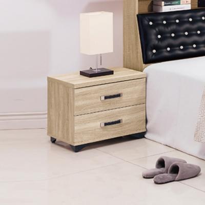 【AS】岱爾橡木1.6尺床頭櫃(單只)-48x40x45cm