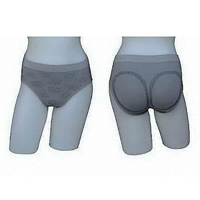 三合豐 ELF 女性竹炭低腰三角玫瑰花紋內褲-4件
