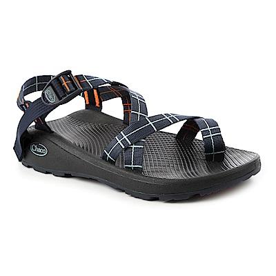 美國Chaco男越野舒壓運動涼鞋夾腳款CH-ZLM02HF32(碎末海軍藍)