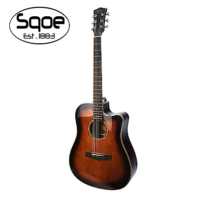 SQOE S370 FG 面單民謠木吉他
