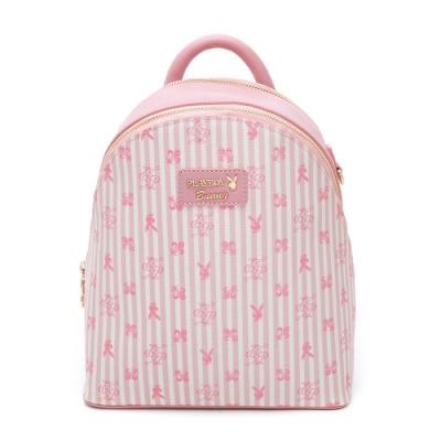 PLAYBOY- 後背包 龐克兔系列-粉色