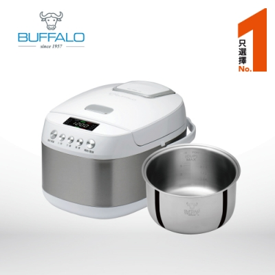 牛頭牌 電子鍋6人份全功能智慧電子鍋(白色)附安康內鍋