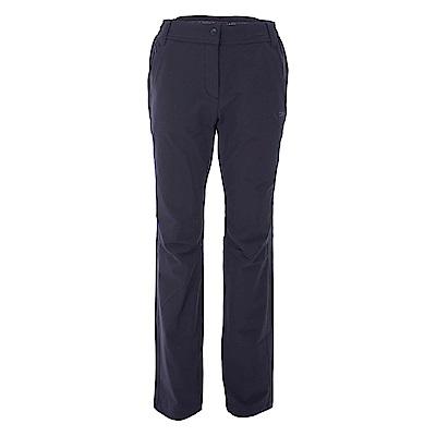 法國【EiDER】 女彈性保暖透氣長褲深藍