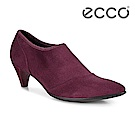 ECCO SHAPE 45 POINTY SLEEK 鬆緊式簡約踝靴 女-酒紅