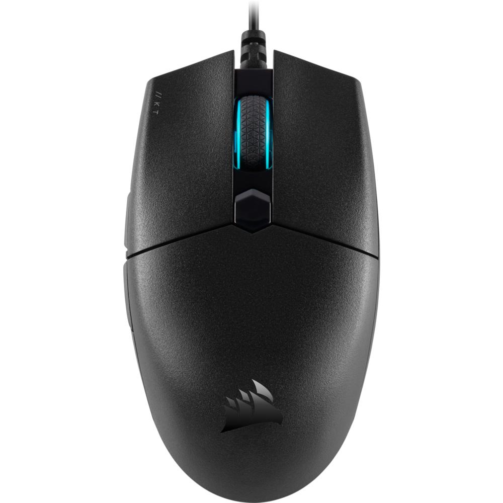 【CORSAIR海盜船】KATAR PRO電競滑鼠/有線/12400 dpi/CH-930C011-AP