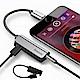 Baseus Lightning轉3.5mm音源+1.5A快充充電聽歌二合一音頻轉接器