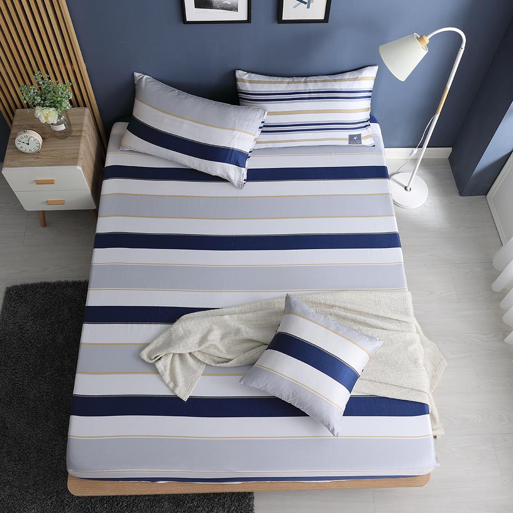 LASOL睡眠屋-100%奧地利天絲-特大床包枕套三件組230織 蔚藍海洋