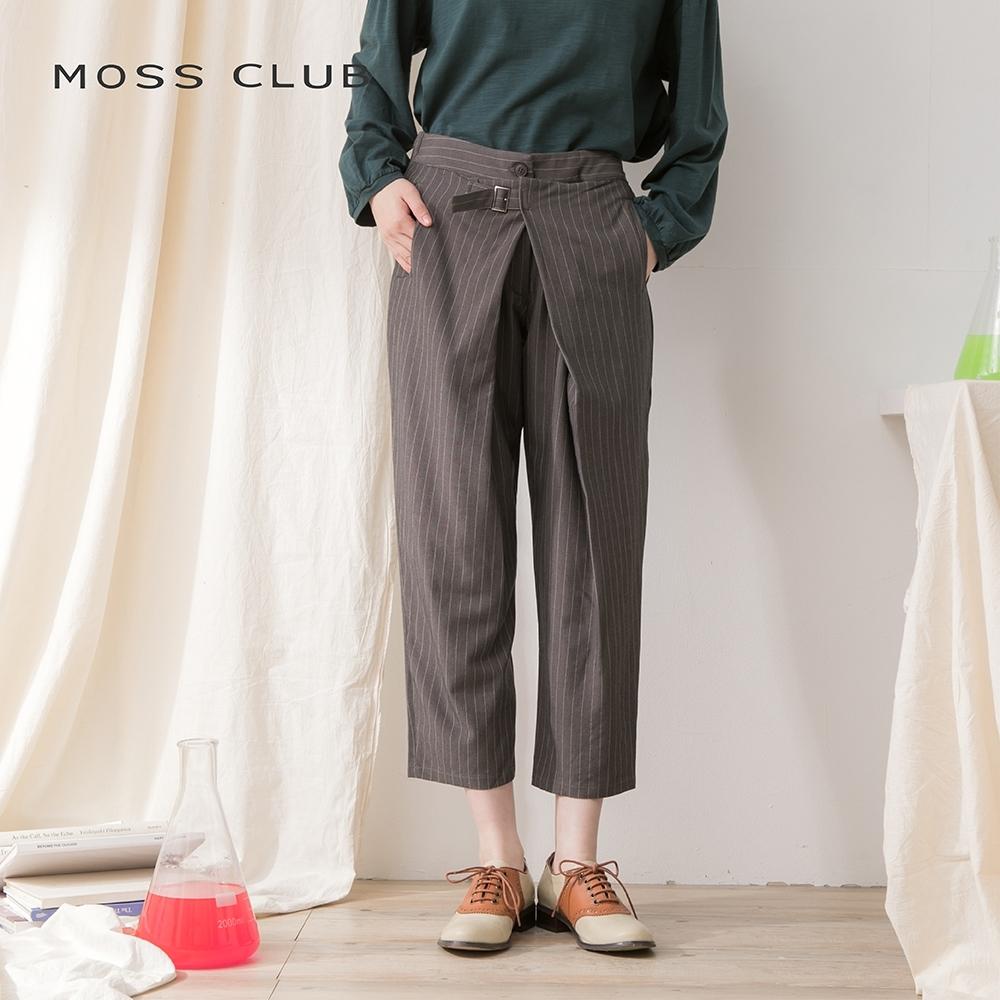 【MOSS CLUB】 日系休閒舒適-長褲(二色)