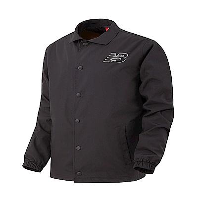 New Balance 教練夾克AMJ81590BK 男性 黑色