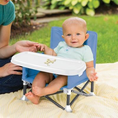 (買就送10%超贈點)Summer infant 旅行輕時尚系列-可攜式幼兒摺疊餐椅(2色任選)