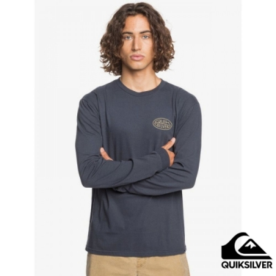 【QUIKSILVER】FAR BEHIND LS MU1 長袖T恤 海軍藍