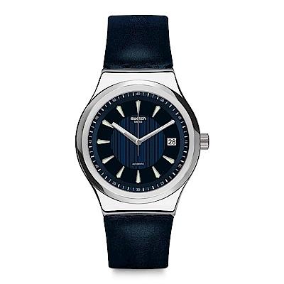 Swatch 51號星球機械錶 SISTEM LAKE 深海探索手錶