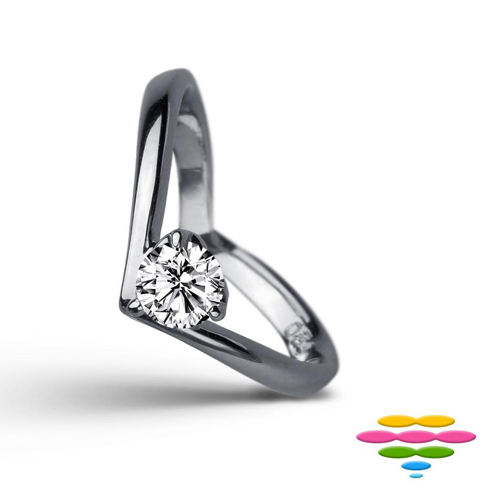 彩糖鑽工坊 9分鑽石戒指 愛心鑽戒 甜蜜愛心系列