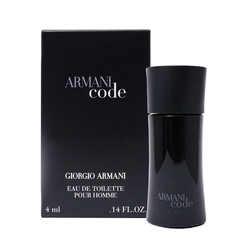 GIORGIO ARMANI黑色密碼男性淡香水小香4ml