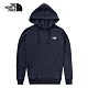 The North Face 男女 長袖連帽T恤 深藍-NF0A4NFGH2G product thumbnail 1