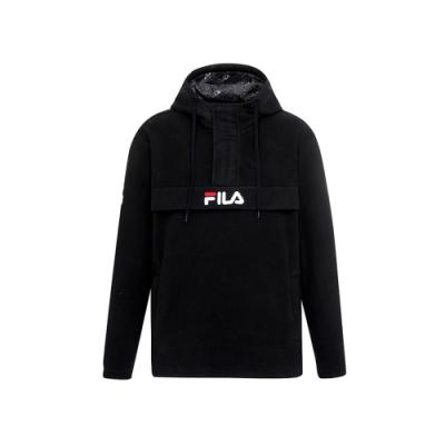 FILA 針織滑雪衫-黑 1JKU-5102-BK