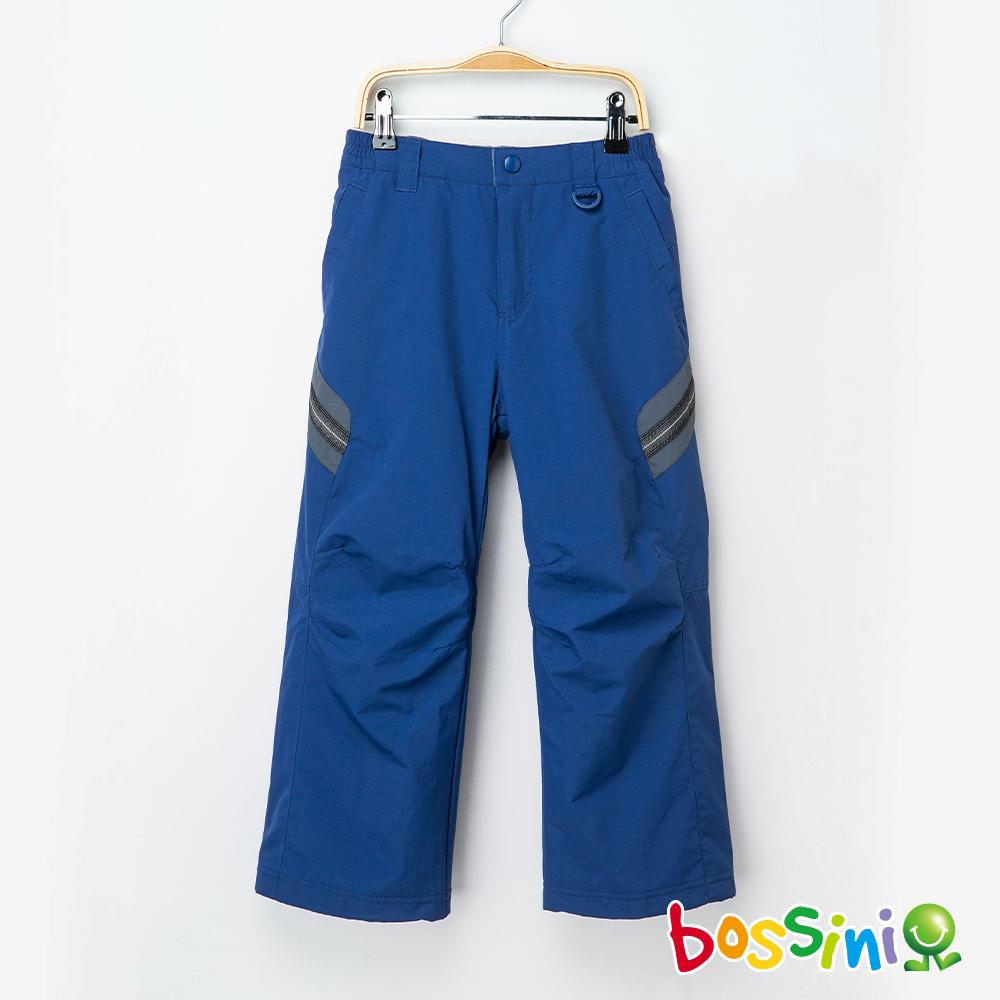 bossini男童-高效熱能雪褲藍紫
