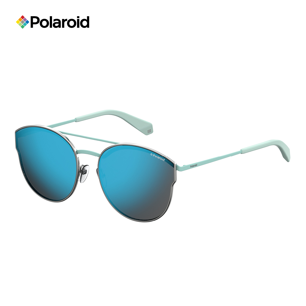 Polaroid PLD 4057/S-中性薄框太陽眼鏡 藍色