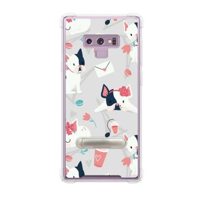 Corner4 Samsung Galaxy Note 9 四角防摔立架手機殼-小法鬥