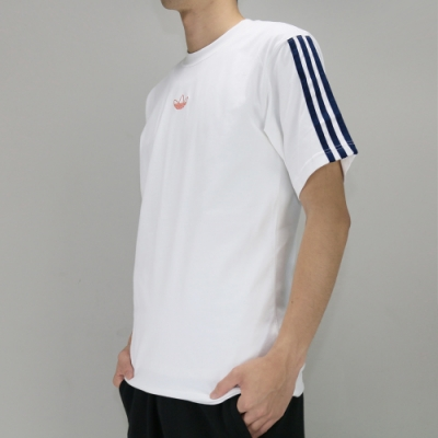 ADIDAS FLOATING TEE 男 短袖上衣 白-DV3260