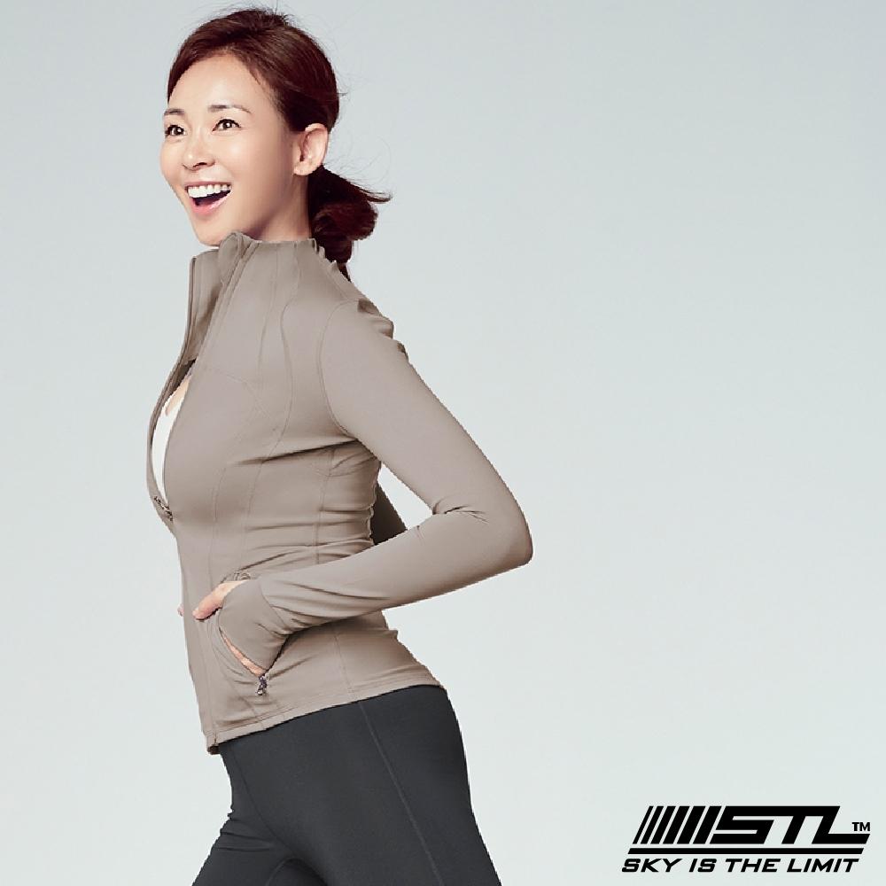 STL Fine Jacket 韓國 運動機能極輕量立領外套 摩登知性杏