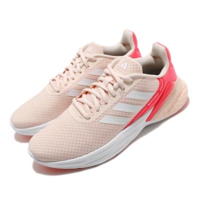 adidas 慢跑鞋 Response SR 運動 女鞋 愛迪達 三線 路跑 透氣 緩震 穿搭 粉 白 FX3645