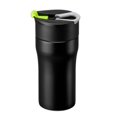 【PO:Selected】丹麥便攜法壓保溫咖啡杯12oz(綠)