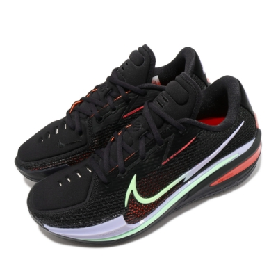Nike 籃球鞋 Zoom G T Cut EP 男鞋 氣墊 舒適 避震 包覆 支撐 運動 球鞋 黑 紅 CZ0176001