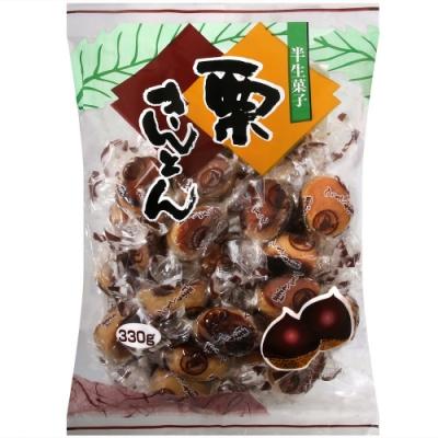 丸一製果 半生果子栗饅頭(330g)